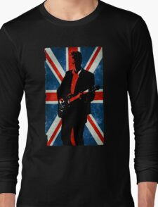 Twelve's Guitar, Hell Bent Doctor Who Long Sleeve T-Shirt