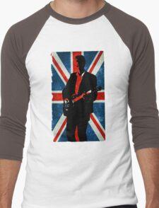 Twelve's Guitar, Hell Bent Doctor Who Men's Baseball ¾ T-Shirt