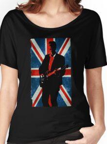 Twelve's Guitar, Hell Bent Doctor Who Women's Relaxed Fit T-Shirt