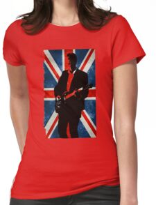 Twelve's Guitar, Hell Bent Doctor Who Womens Fitted T-Shirt