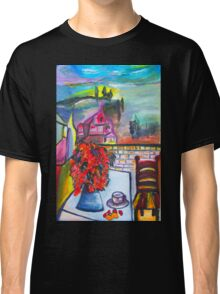 Room With A View Classic T-Shirt