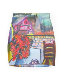 Room With A View Mini Skirt