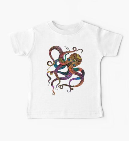 Electric Octopus Baby Tee