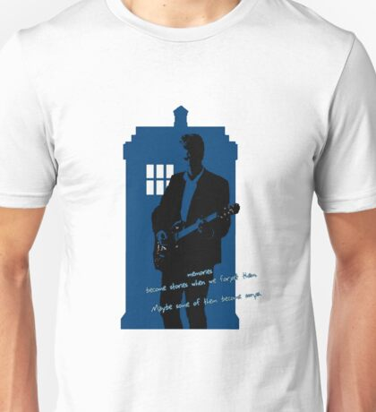 Stories become Songs, Doctor Who Unisex T-Shirt