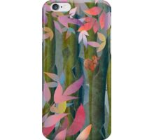 Autumn by a Waterfall iPhone Case/Skin