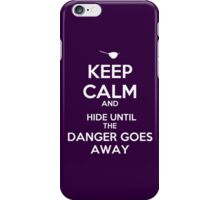 KEEP CALM, XANDER iPhone Case/Skin
