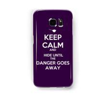 KEEP CALM, XANDER Samsung Galaxy Case/Skin