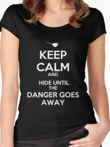 KEEP CALM, XANDER Women's Fitted Scoop T-Shirt