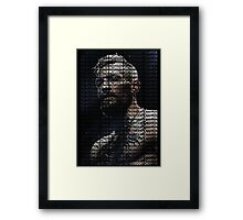 Conor Mcgregor, Champion (Superimposed) Framed Print