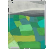 Patchwork hills abstract landscape iPad Case/Skin