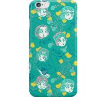 Folksy Flappers iPhone Case/Skin