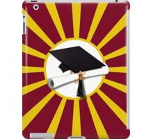 Red and Gold School Colors  iPad Case/Skin