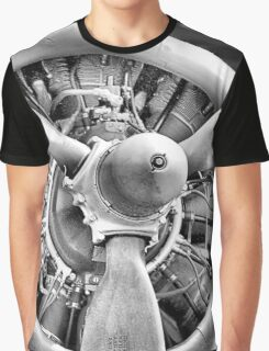 Shoo-Shoo Baby B17 Aircraft Graphic T-Shirt