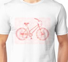 The Tattoo Bycicles-  Pink Dream Tattoo Unisex T-Shirt