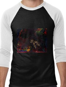 Abstract space surreal scifi  Men's Baseball ¾ T-Shirt