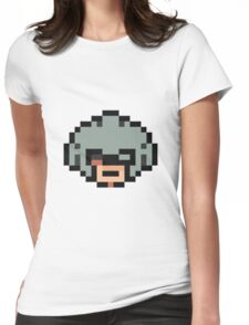 Masked Man Lucas Shirt Womens Fitted T-Shirt