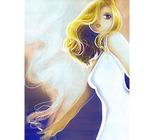 Blonde Cigarette Photographic Print