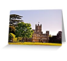 Highclere Castle Greeting Card