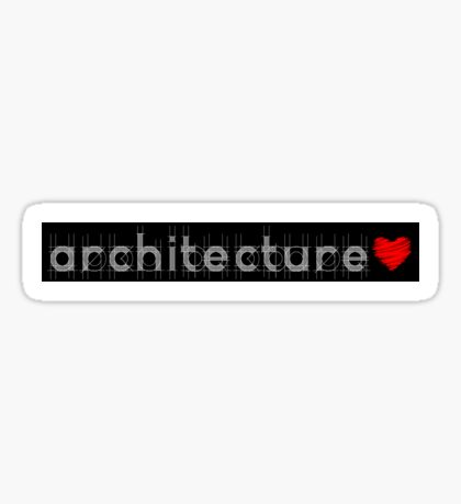 Architecture Sticker