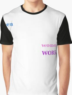 WORK Graphic T-Shirt