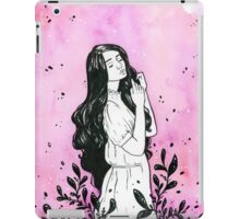 Daydreams - Watercolor and ink painting iPad Case/Skin