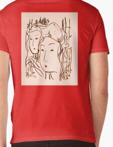 Japanese Bamboo Forest Mens V-Neck T-Shirt