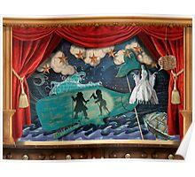 Diorama Folk Music Poster