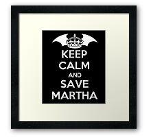Sons of Martha Framed Print