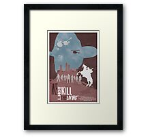 Walking Dead Rick Grimes Framed Print