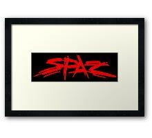 SPAZ Framed Print