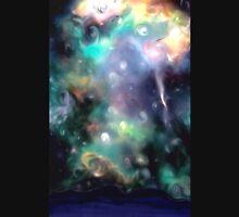 starry night nebula stars sky Unisex T-Shirt