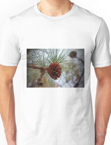 Hanging  Pine Cone Unisex T-Shirt