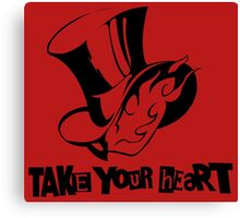 Persona 5 - Take Your Heart Canvas Print
