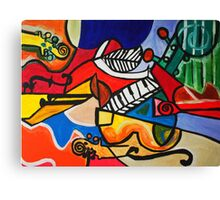 Endless Music Canvas Print