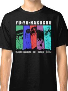 Yu Yu Hakusho - Urameshi, Kuwabara, Hiei, Kurama, Koenma Classic T-Shirt