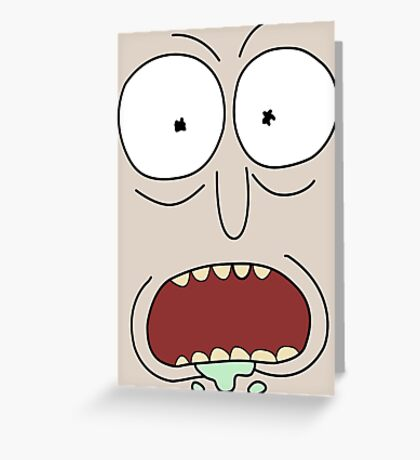 Rick Greeting Card