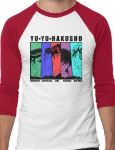 Yu Yu Hakusho - Urameshi, Kuwabara, Hiei, Kurama, Koenma Men's Baseball ¾ T-Shirt