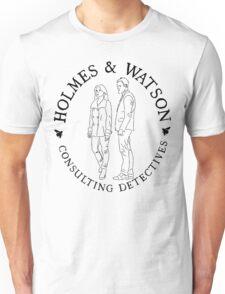 Holmes and Watson Unisex T-Shirt
