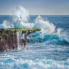 Exploding Surf by JohnKarmouche