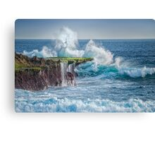 Exploding Surf Canvas Print