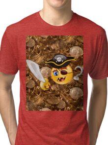 pirate emoji Tri-blend T-Shirt