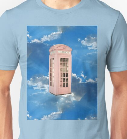 pink phone booth Unisex T-Shirt