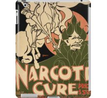 Artist Posters Narcoti cure Cures the tobacco habit in from 4 to 10 days Price 500 Bradley 0261 iPad Case/Skin