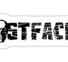 Ghostfacers logo from Supernatural tv show Sticker