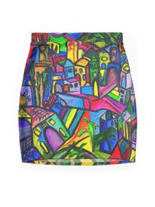 Dreamscapes Mini Skirt