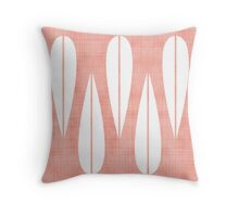 Make Mine MCM Pink Throw Pillow