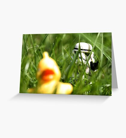 Quietly does it... Greeting Card