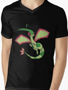 F for F-lygon Mens V-Neck T-Shirt