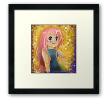 Paint Pastel Princess Framed Print