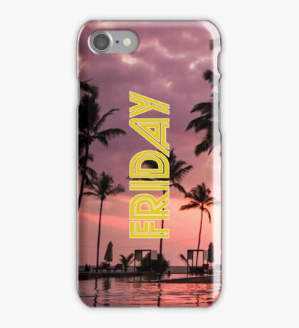 Friday Every Day of the Week iPhone Case/Skin